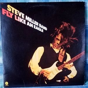 Record Album-Steve Miller Band-Fly Like An Eagle